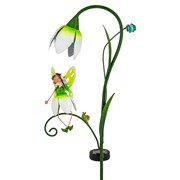 Fountasia Fairy Solar Stake - Snowdrop (PS95143)
